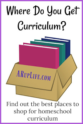 curriculum homeschool shopping