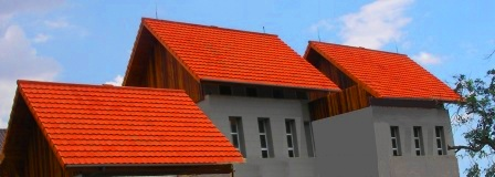 rangka baja ringan pakai genteng tanah sudut kemiringan atap rumah