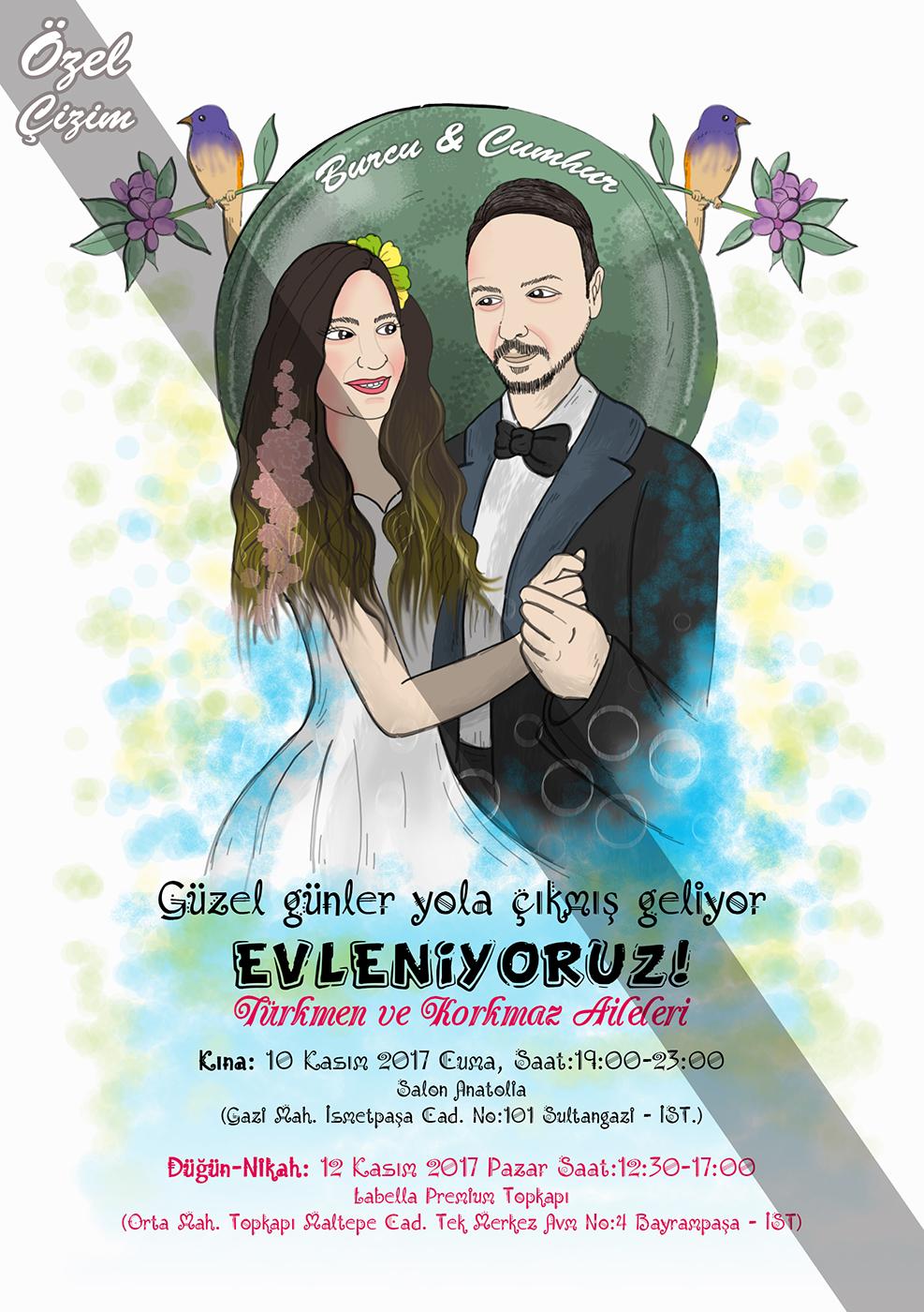 Düğün Davetiyeleri – Kişiye Özel