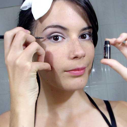 Maquillaje de noche paso a paso para principiantes - Ojos ahumados para principiantes ...