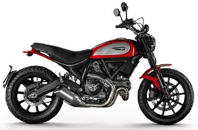 Harga Ducati Scrambler Icon Red