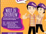 Walk in Interview D'crepes