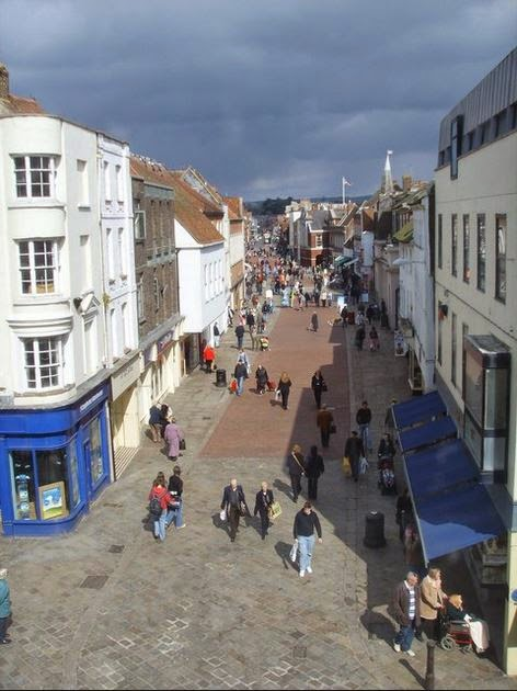 North Street Chichester today