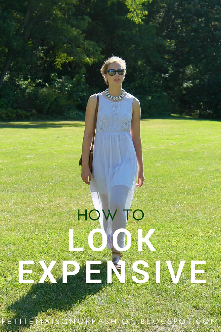 How to Dress expensive in an inexpensive way, look chic