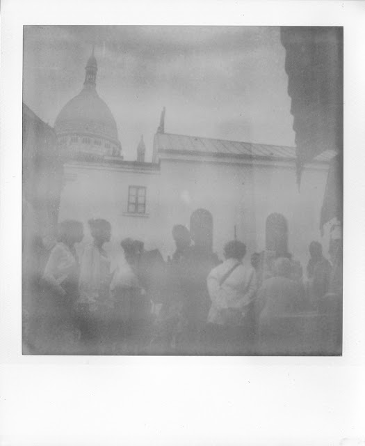One film of true B&W was... grey. Polaroid film, expired
