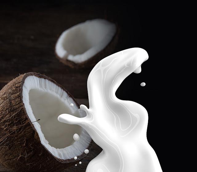 أهمية حليب جوز الهند في علاج الشعر التالف وتكثيف الشعر