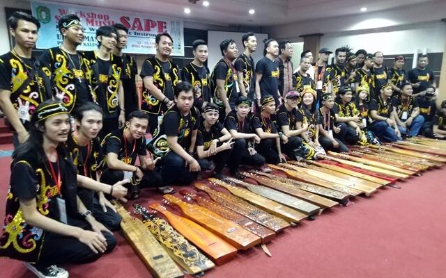 workshop musik sape