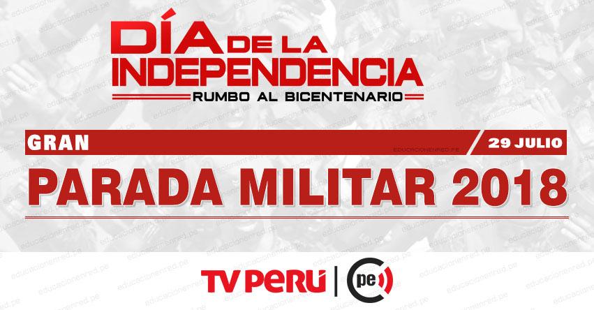 EN VIVO: Parada Militar Av. Brasil (29 Julio 2018) Desfile Cívico - Militar - TV PERÚ HD - www.tvperu.gob.pe