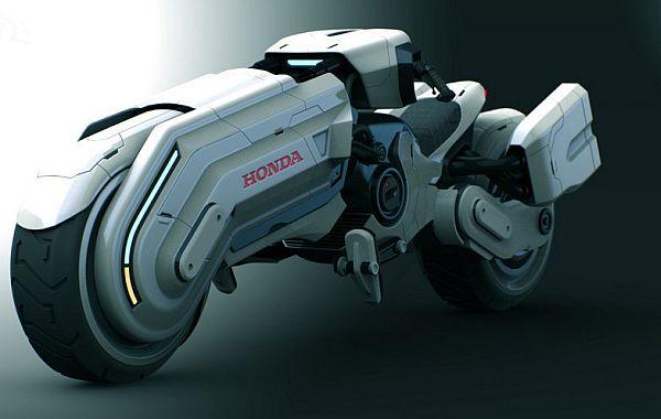 world in live: honda's futuristic motorcycle concept