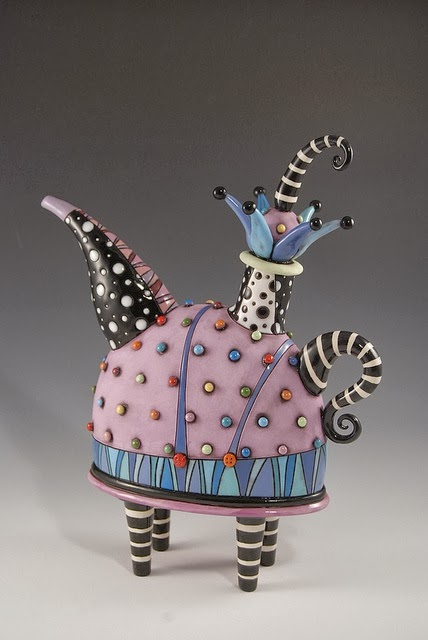 Creating with Cassidy: Contemporary Ceramic Teapot Examples