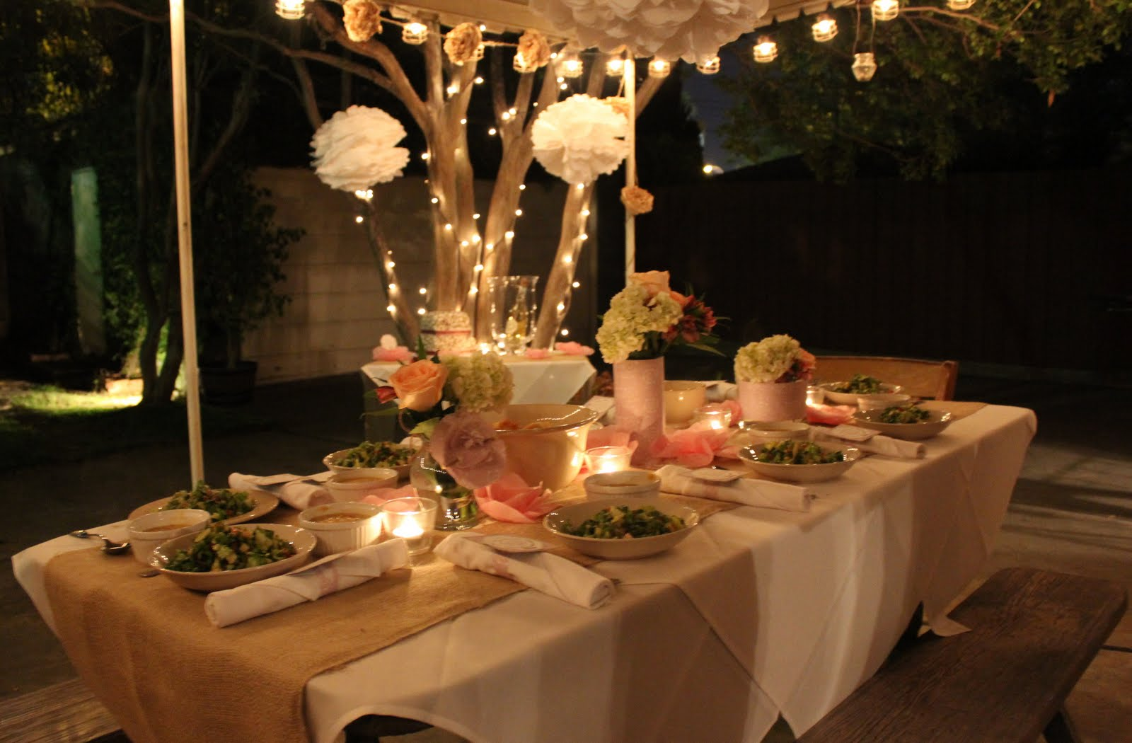 Juneberry Lane: Outdoor Champagne Soirée - A Simple ...
