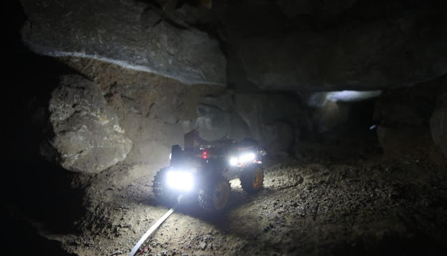Robots help find new underground galleries in Peru's Chavín de Huántar