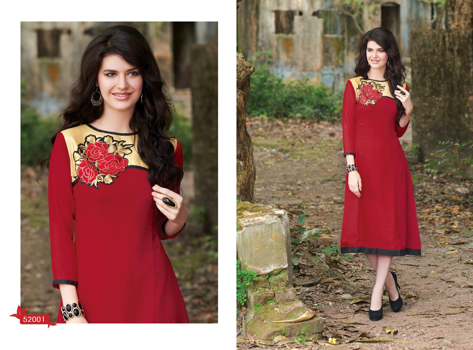 BUZZ 52 – Attractive Look Stylish And Designer Kurti