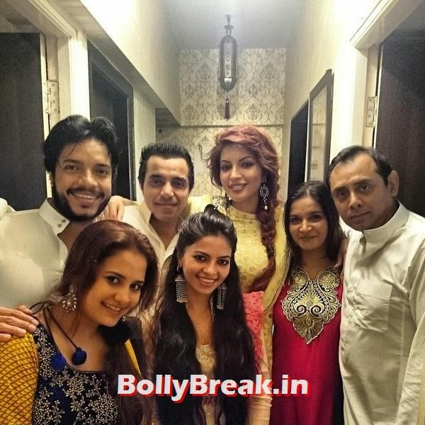 Shama Sikander with her friends and family, Bollywood Eid Celebration Pics 2014