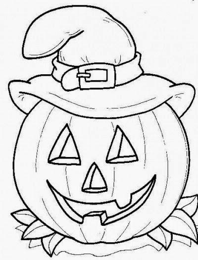 Zucca Di Halloween Da Colorare Per Bambini