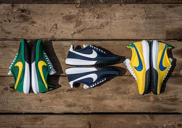 Nike Sportswear Waffle Racer retro tênis