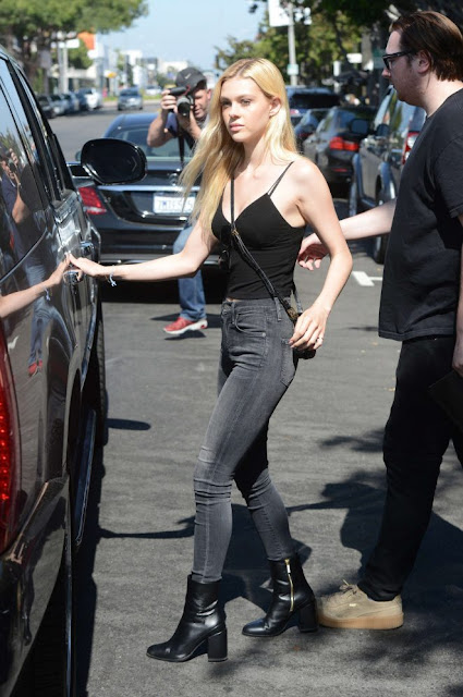 Nicola Peltz in Jeans Out in Los Angeles