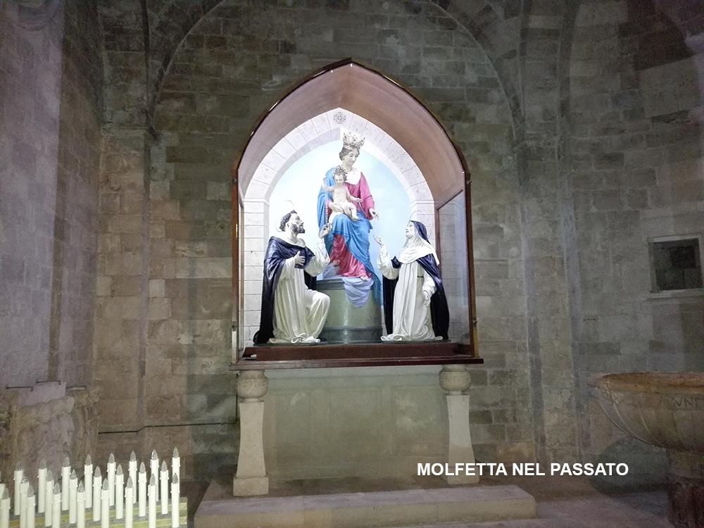 Molfetta Nel Passato Madonna Di Pompei O Del Rosario Duomo Molfetta