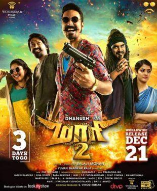 Maari 2015 Hindi Dubbed Movie Download HDRip 720p