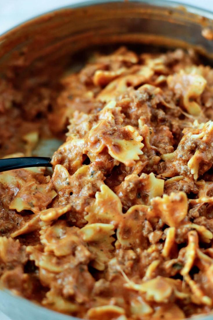 Bow Tie Lasagna Recipe