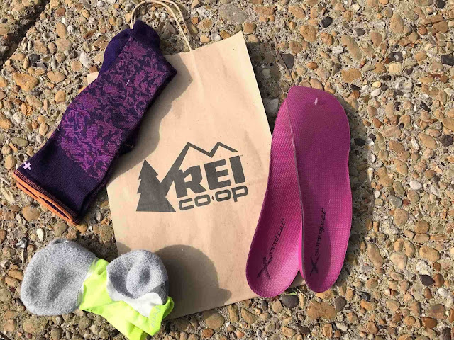 rei garage sale review markdowns discount socks shoe inserts sockwell compression socks