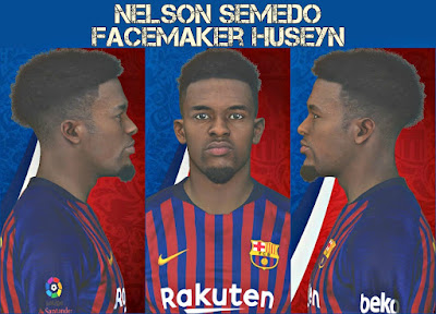 PES 2017 Faces Nelson Semedo by Huseyn