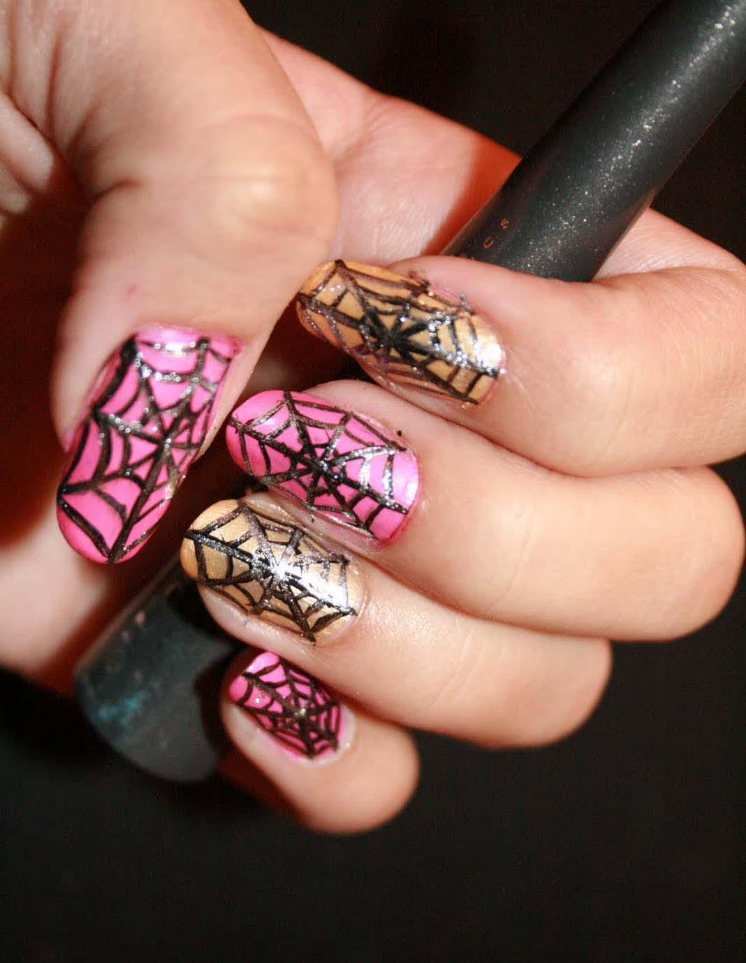 Spider Nail Art Designs