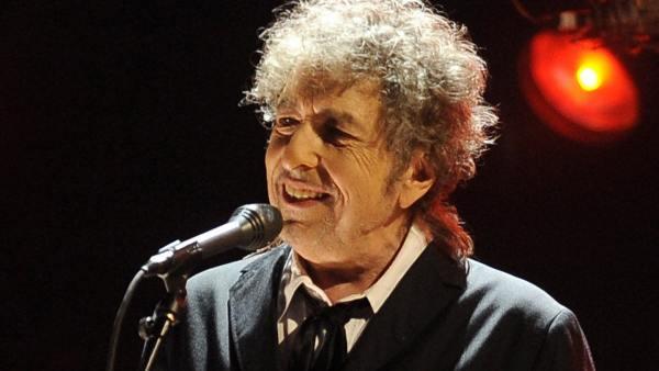 Bob Dylan, en un concierto en Los Ángeles en 2012