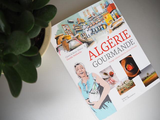 Livre l'Algérie Gourmande