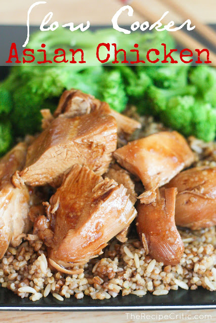 Easy Delicious Slow Cooker Asian Chicken Recipe #delicious #slowcooker #asianchicken #asianrecipe #maindish #chickenrecipe #easychickenrecipe
