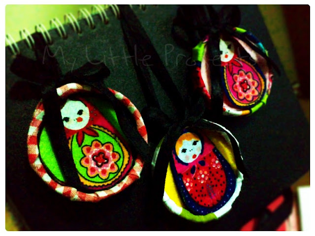 Matryoshka necklace