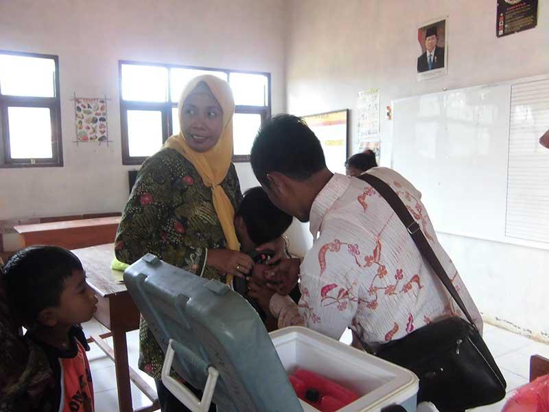 Pemeriksaan Kesehatan Siswa Sekolah Dasar Negeri