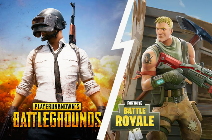 Top 5 Fortnite\PUBG like games under 500mb for android