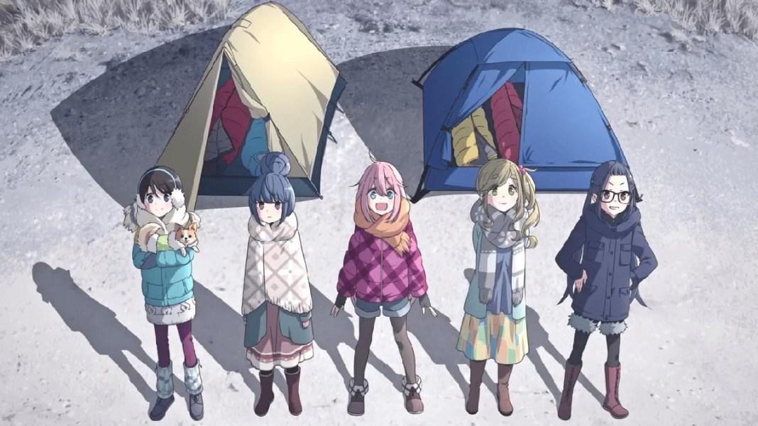 Yuru Camp triplica campistas em Yamanashi