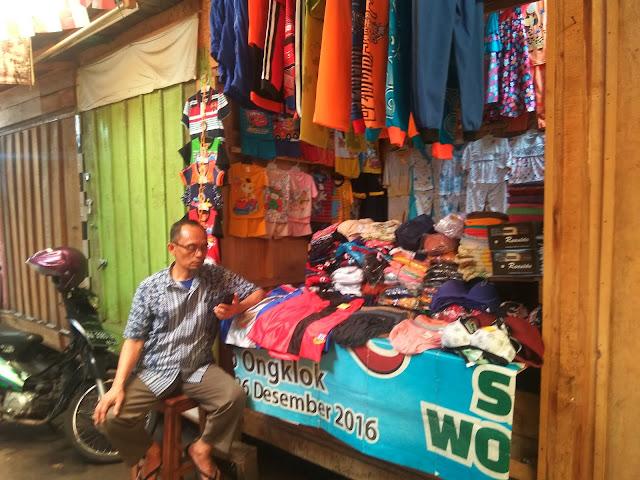 Kisah Anak Pedagang Korban kebakaran Pasar Induk Wonosobo Tahun 1994