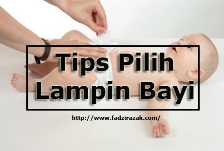 Tips Pilih Lampin Bayi