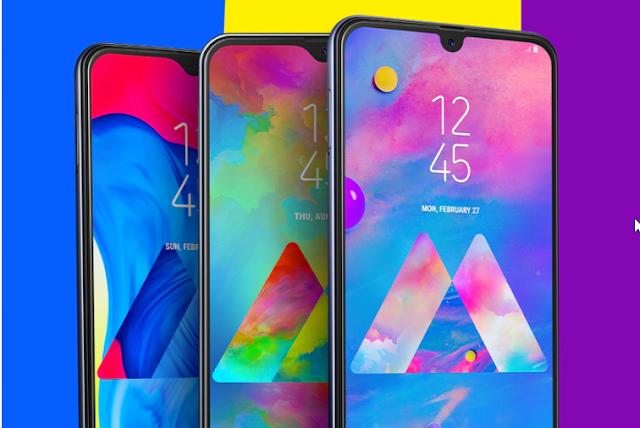nuevos dispositivos samsung galaxy m 2019