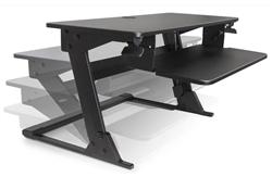 Systematix Volante Desktop Sit-Stand Station
