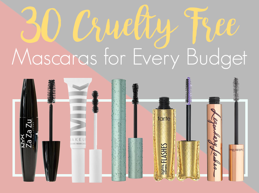 30 cruelty free mascaras for every budget