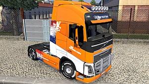 McGregor Netherlands skin for Volvo 2012