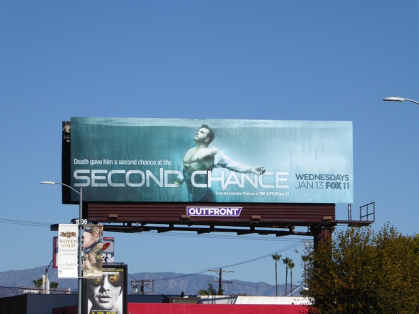Second Chance series premiere billboard