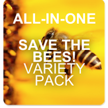 All-in-One SAVE THE BEES! Garden Variety Pack