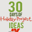 30 Days of Holiday Projects with Xyron - Holiday Yard Sign