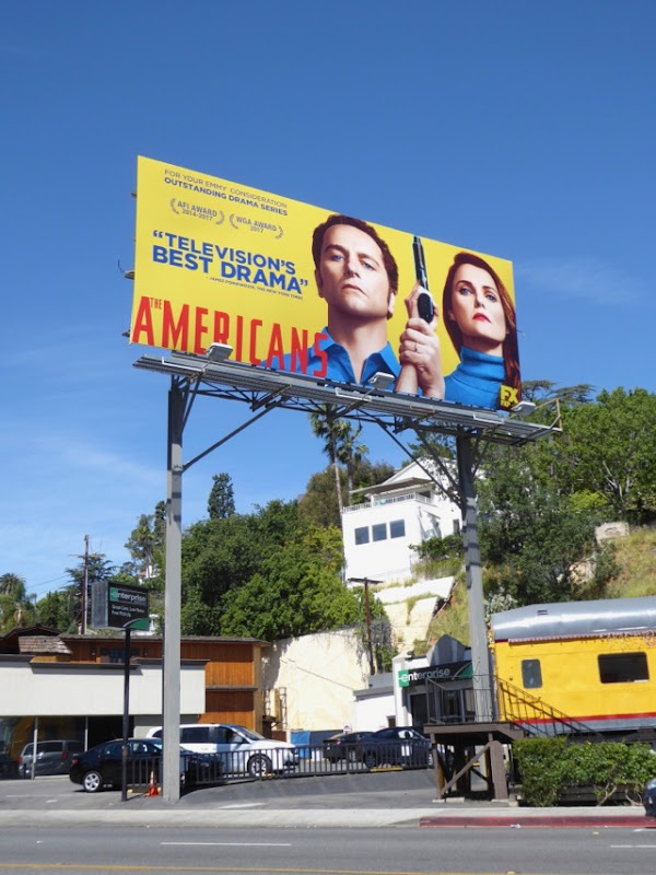 Americans season 5 Emmy FYC billboard