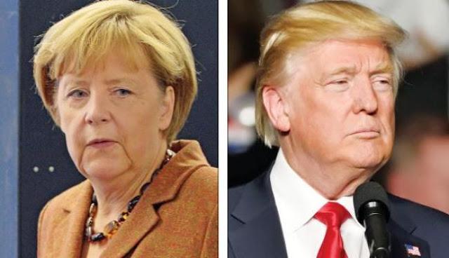 Η Frau Μέρκελ στήνει «μπλοκ» της Ευρώπης κατά του Τραμπ