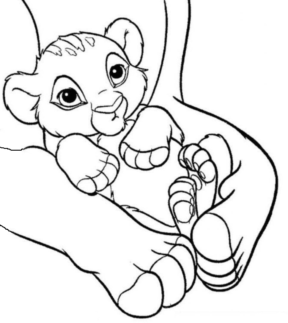 Free Printable Coloring Pages For Lion King