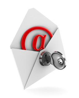 طريقة إرسال رسائل بريد إلكتروني مشفرة برقم سري
