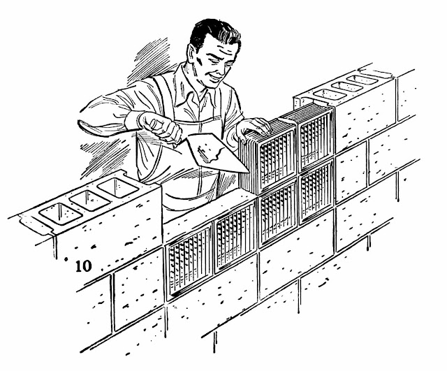1956 glass blocks illustration