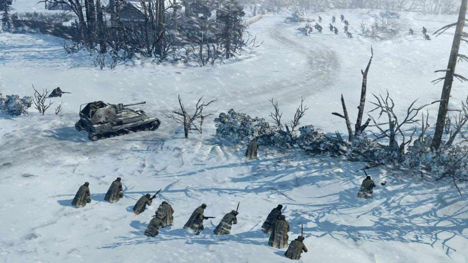 Company Of Heroes 2 Snow Landscape Wallpaper All Hd Wallpapers