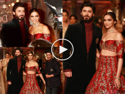 Fawad To play Deepika's Husband in Padmavati